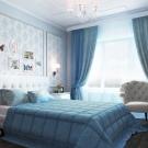 шторы классика в спальню