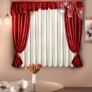 штора из одного полотна