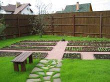 Фото красивых садовых дорожек