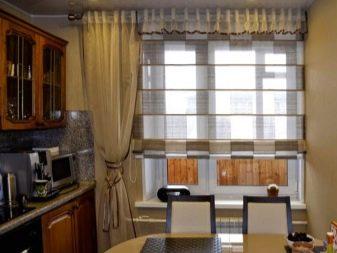 римские шторы на кухню 78 фото современный дизайн 2019 года новинки