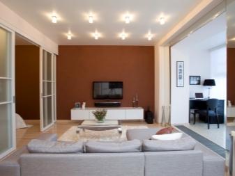 Дизайн квартиры-студии 40 кв