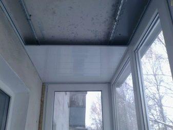 Потолки на балконе (41 фото): как и из чего сделать натяжные.