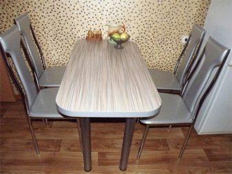 Стол из кухонной столешницы своими руками