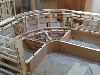 Изготовление каркаса сидений своими руками 25