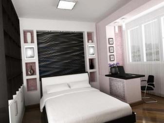дизайн спальни в хрущевке 94 фото реальные идеи ремонта