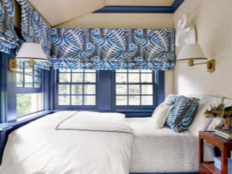 Как выбрать шторы в спальню? 37 фото: советы, как правильно выбирать карниз и цвет штор