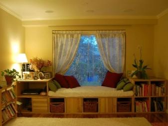 Как красиво повесить шторы (117 фото): оригинальные идеи оформления окон, как вешается кисея, драпировка и другие варианты в интерьере
