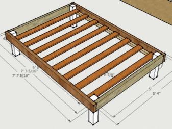 кровать из дерева своими руками 74 фото как сделать деревянную