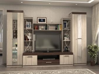 Современные стенки в гостиную (57 фото): красивые угловые модели в зал, мини-стенки в современном стиле, новинки 2018 и модные тенденции, примеры в интерьере