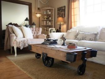 Стол в гостиную (50 фото): выбираем маленький столик и со стульями для зала, современные идеи дизайна интерьера в стиле - классика