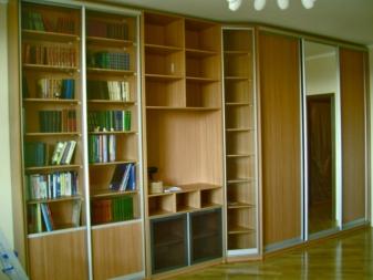 книжные шкафы 68 фото современные закрытые и открытые стеллажи