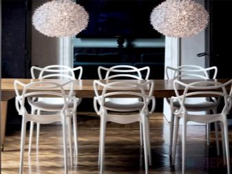 Полубарные стулья: дизайнерские варианты в стиле лофт, прозрачные модели, табурет высотой 65 см из дерева, размеры крутящегося кресла