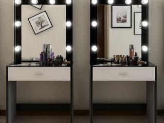 туалетный столик 67 фото многообразие подвесных столов с зеркалом