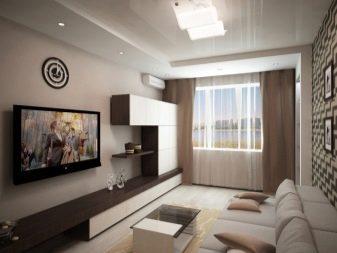 Дизайн гостиной комнаты 16 кв