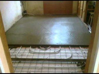 Устройство бетонных полов по грунту