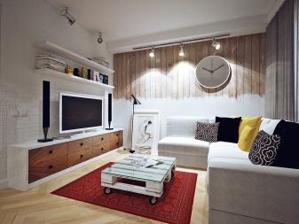 Дизайн маленькой гостиной (95 фото): современные идеи - 2018 оформления интерьера небольшого зала в квартире