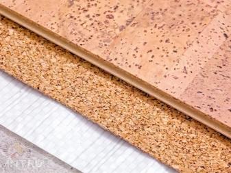 Пробковый пол (50 фото): плюсы и минусы напольного покрытия из пробки, техника монтажа пробковой доски, отзывы владельцев