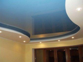 Натяжные потолки минусы и плюсы конструкции