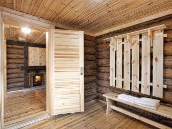 Проект бани с комнатой отдыха и террасой