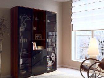 витрина для посуды в гостиной 102 фото шкаф со стеклом угловая