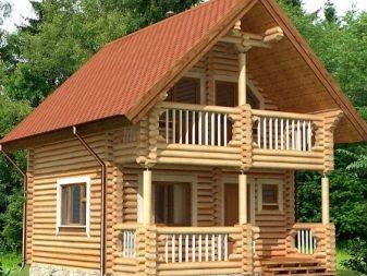 Планировка загородного дома с баней