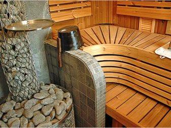 Размер полок в русской бане
