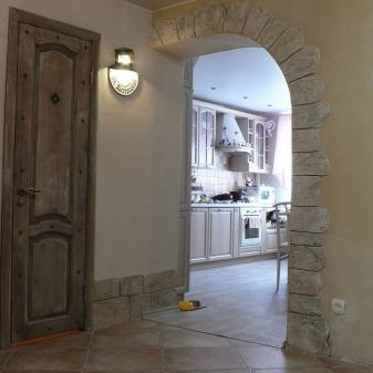 Как сделать арку на кухне фото 346