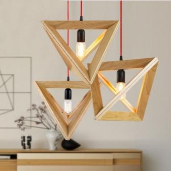Светильники из дерева 52 фото деревянные модели под старину и креативные японские круглой формы резные в виде собаки и домика