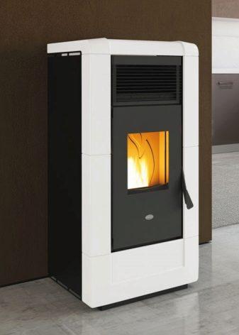 Печь-камин длительного горения на дровах для дома, бани, дачи