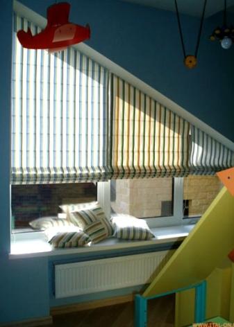 Карнизы для римских штор (47 фото): как повесить шторы, как крепятся, особенности крепления