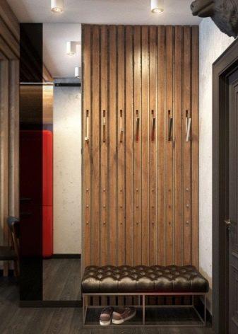 Прихожая в стиле - лофт - (63 фото): дизайн интерьера коридора, мебель и оформление в индустриальном направлении