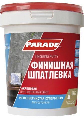 В домашних условиях рецепт шпатлевки для акриловых красок наливные полы в санкт-петер