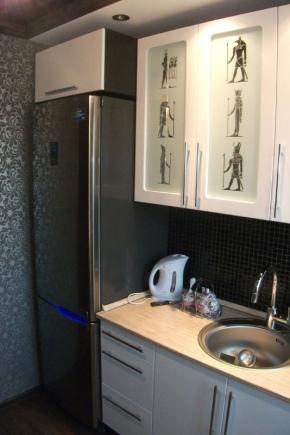 Узкие модели холодильников