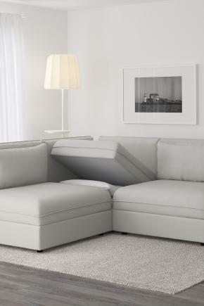 угловой диван Ikea монстад
