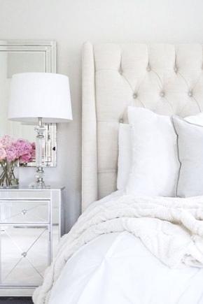 спальня в белом цвете дизайн фото 2