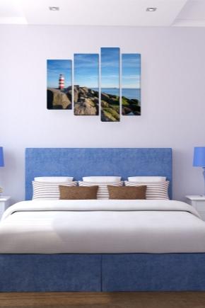 Картины для спальни (70 фото)  какие можно и нельзя вешать над ... 6bd0800cf89