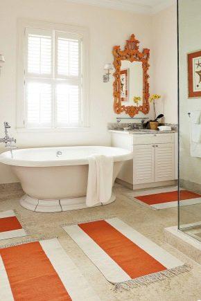 Коврики для ванных комнат