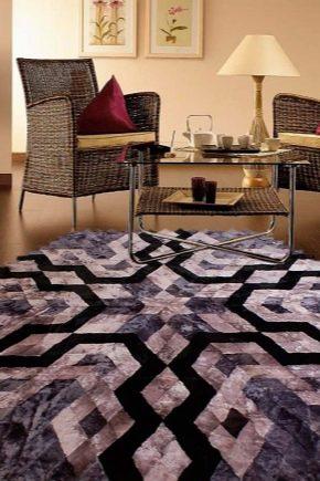 Оригинальные ковры из меха