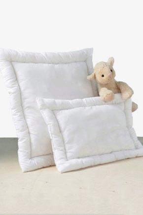 Особенности выбора детских подушек