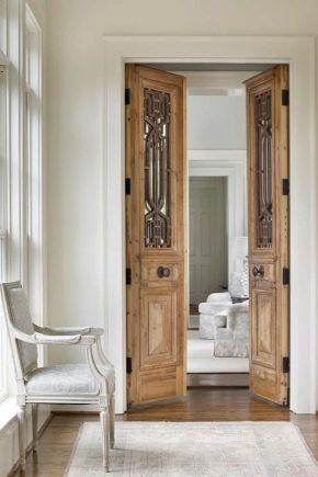 распашные двери 52 фото двойные стеклянные межкомнатные двери