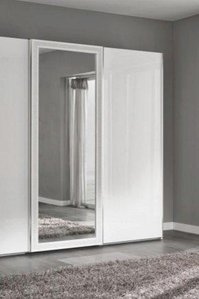 Белые шкафы