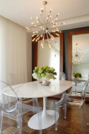 Белые столы