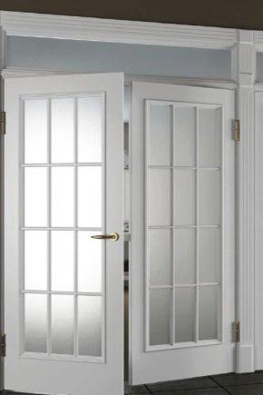 Как снять дверь с петель?