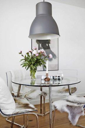 Стеклянные столы Ikea