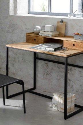Стол в стиле «лофт»