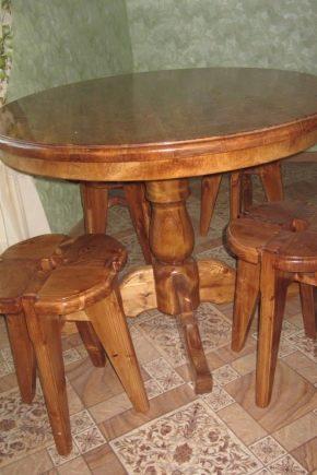 Выбираем стол из массива сосны