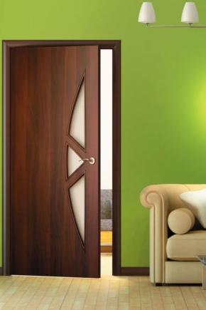 Двери с обшивкой из ламината: плюсы и минусы