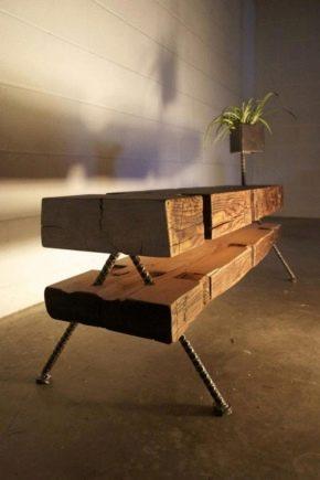 Как сделать стол из дерева своими руками?