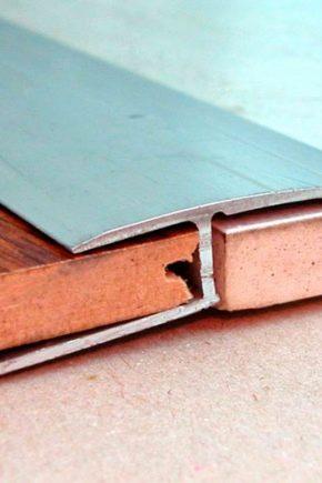 Правильно оформляем стык плитки и ламината: рекомендации
