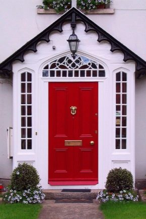 Размеры входных дверей